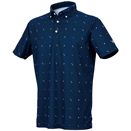 [キャスコ]ボタンダウンポロシャツ メンズ
