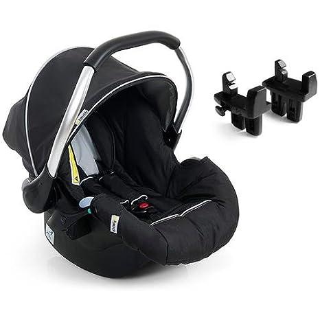 Asiento Coche Hauck Zero Plus Comfort 0 + Black con adaptadores para Duett: Amazon.es: Bebé