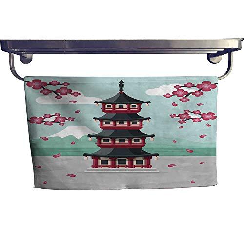 wel Japanese Pagoda Towel W 12
