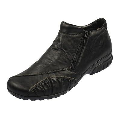 56313ab7ca17 Rieker L4681 Damen Stiefelette schwarz, EU 42  Amazon.de  Schuhe ...