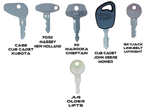 Construction Equipment Master Keys Set-Ignition Key Ring for Heavy Machines, 36 Key Set by TORNADO HEAVY EQUIPMENT PARTS (Image #4)