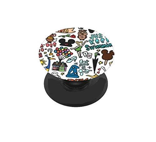 Vinyl Decal Sticker Skin for your Pop Socket - PHONE GRIP OPTIONAL - Character Collage Up, Sorcerer, etc.