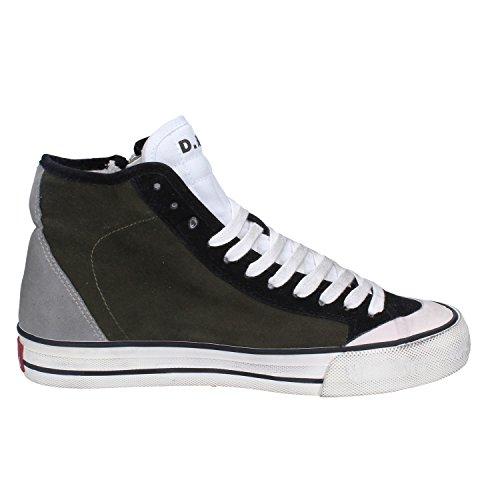 D.a.t.e. Date Sneakers Damen 37 EU Grün Wildleder