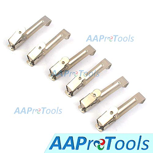 - AAProTools 6pcs Dental Stainless Steel X-Ray Film Holder Clip Hanger Clamp Autoclavable