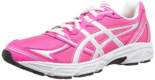 Asics Patriot 6 - Zapatillas de running para mujer Rosa / Blanco / Plata