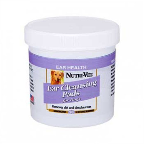 Nutri-Vet Ear Cleaning Medicated Pads, 90 count, My Pet Supplies