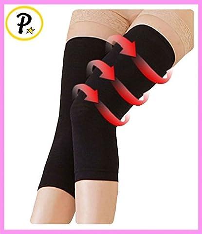 Presadee Thigh Leg Calf Slimming Shaper Compression Calories Cellulite Burner Circulation Toner 1 Pair (Calorie Burner)