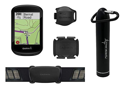 - Garmin Edge 830 GPS Cycling Computer with Included Wearable4U Compact Power Bank Bundle