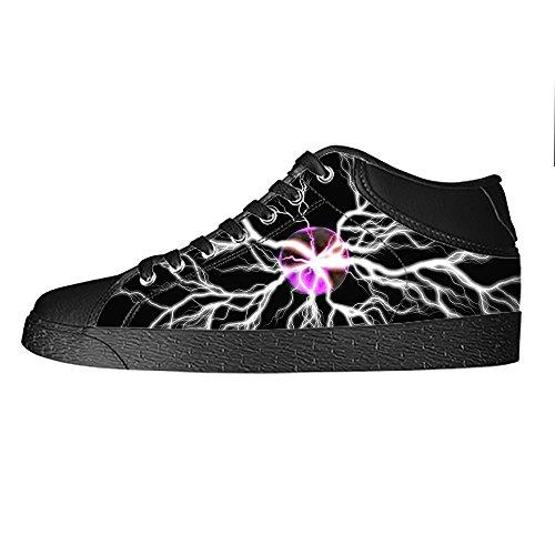Illuminazione Women's Scarpe Da Ginnastica Delle Lacci Canvas Shoes I Tetto Custom Alto TOdqwO