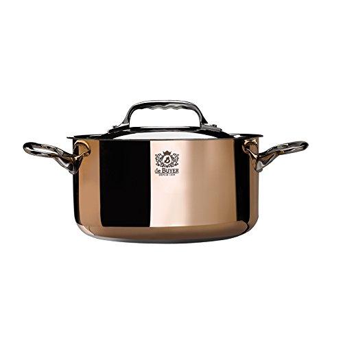 de buyer copper cookware - 2