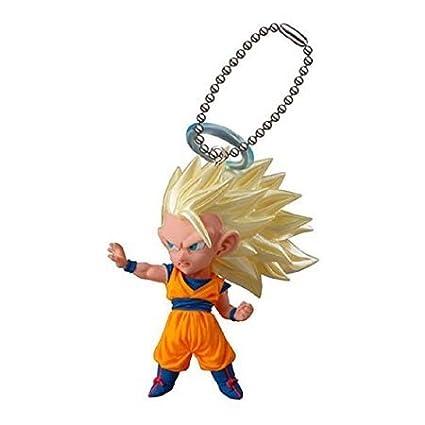 Amazon.com: Dragon Ball Z udm ráfaga 09 SS3 Goku SS3 figura ...