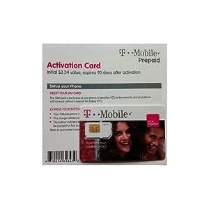 T-Mobile Estados Unidos Tarjeta SIM: Amazon.es: Electrónica