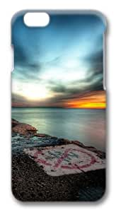 Hdr Sunset Polycarbonate Hard Case Cover for iphone 6 plus 5.5 inch 3D