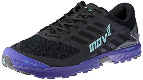 Inov-8 Women's Trailroc 285 Black/Purple/Blue Running Shoe 7.5 Women US