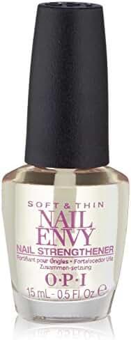 OPI Nail Envy Nail Strengthener, Soft and Thin , 0.5 fl. oz.