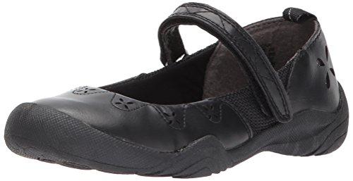 utdoor Mary Jane Flat, Black, 8 M US Toddler (Girls Mary Jane Shoes)