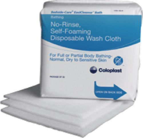 Coloplast Easicleanse Self Foaming Skin Washcloth, Latex-free (Box of 30 Each) - Coloplast Box