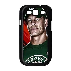 Wwe 13 Roster John Cena funda Samsung Galaxy S3 9300 caja funda del teléfono celular del teléfono celular negro cubierta de la caja funda EEECBCAAL08810