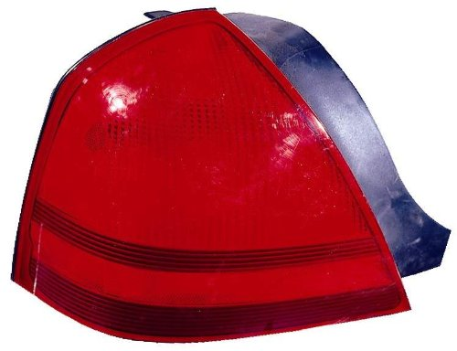 Depo 331-1971L-US Mercury Grand Marquis Driver Side Replacement Taillight Unit without Bulb