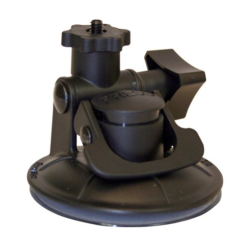 Panavise ActionGrip 13101 Shorty Suction Cup Camera Mount (Matte Black)