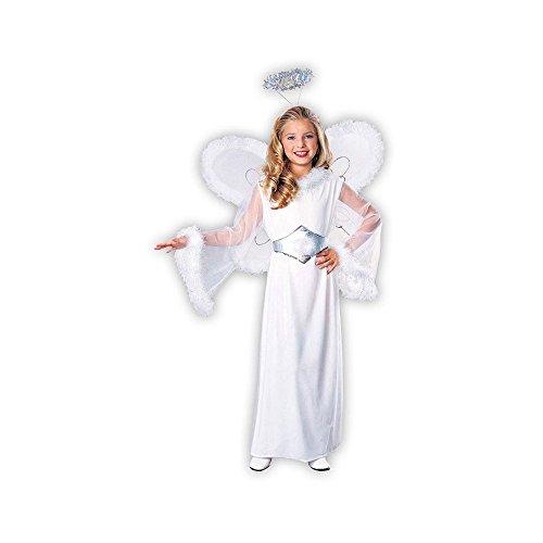 [Feathered Fashions Child's Snow Angel Costume, Medium] (Childrens Angel Costumes)