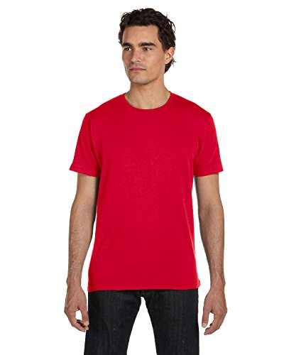 Alternative Men's 3.5 oz. Organic Basic Crew - EARTH RED - 2XL