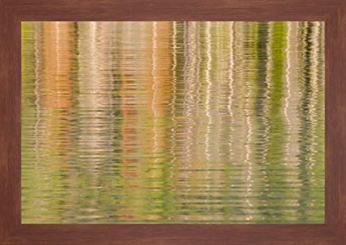Idaho Fall Reflections Ripple on Redfish Lake by Don Paulson - 12