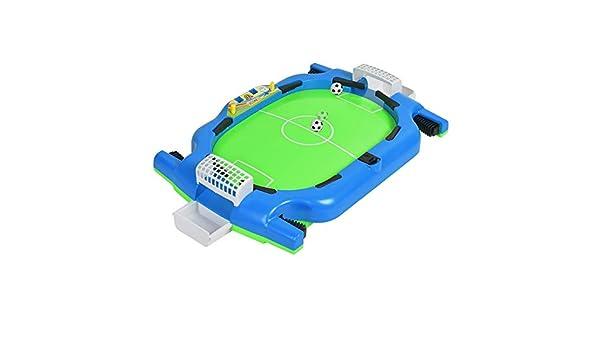 Futbolín de Mesa Juego Mini Mesa Dedo Juego de pelota de fútbol ...