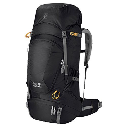 Jack Wolfskin Highland Trail XT 60 Technical Pack, Black, Small/Large