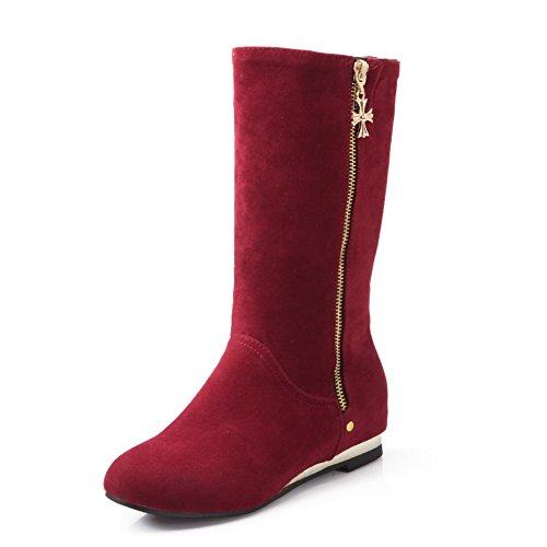 altas Zapatillas AdeeSu AdeeSu Zapatillas mujer Red tqgdg6n1x