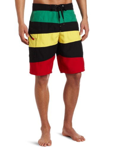 Matix Men's Rude Boy Short, Rasta, 30 ()