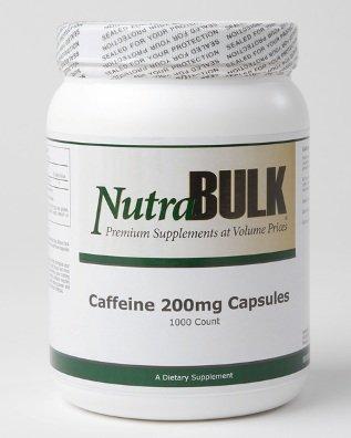 NutraBulk Diet Pills Caféine 200mg 500 Compte