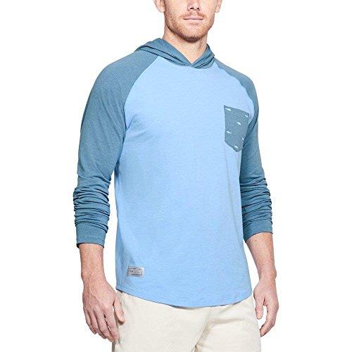(Under Armour Men's Dockside Charged Cotton Hoodie, Carolina Blue/Carolina Blue, 3X-Large)