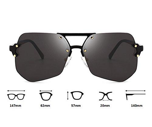UV Naranja protectoras de retros polarizadas sol Gafas aviador Gafas Huateng de clásicas irregulares no wt6HOITxq