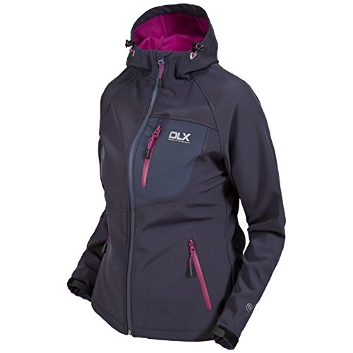 Trespass Ronda - Veste softshell imperméable - Femme (XL) (Carbone)