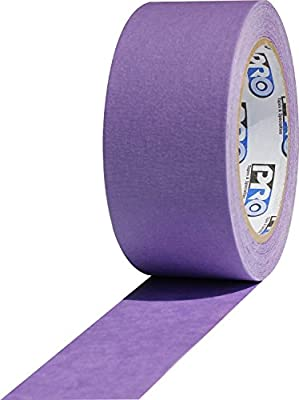 "ProTapes Pro Scenic 728 Acrylic 30 Day Easy Release Painters Masking Tape, 60 yds Length x 3/4"" Width, Purple (Pack of 1)"