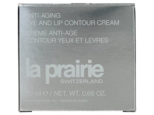 La Prairie Anti-Aging Eye/Lip Contour Cream for Unisex, 0.68 Ounce