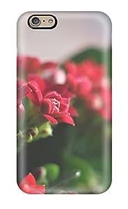 Iphone 6 Case Bumper Tpu Skin Cover For Beautiful Red Flowers Accessories