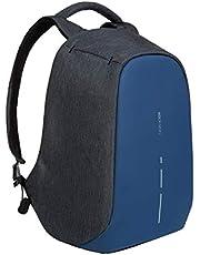 حقيبة ظهر بوبي لحمل اللاب توب بتصميم صغير مضاد للسرقة ومنفذ مدمج لشاحن يو اس بي من اكس دي ديزاين (ازرق)