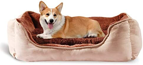 YIHATA Comfortable Dog Bed Pet Bed for Medium and Small Dog Beds Washable