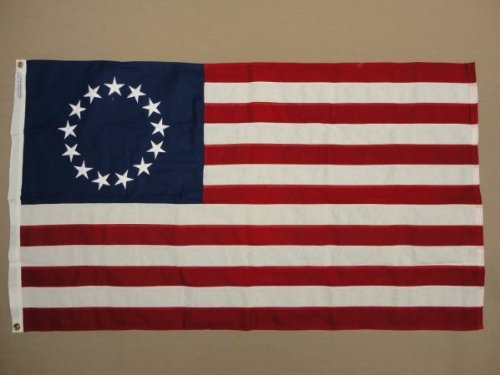 Annin Flagmakers 318100 Betsy Ross with Embroidered Stars Co