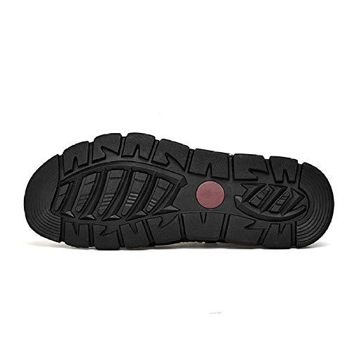 wholesale dealer b6b4c 70c8c chaussures Hommes Darkbrown Souples Sandales Pour De À Randonnée convient  Antidérapantes Pêcheur Bout Plein Trekking Xiaoly ...