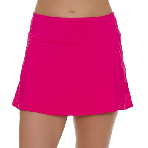 - Fila Women's Sweetspot Tennis Skort, Raspberry, White, M