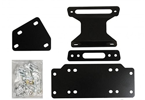 - SuperATV Heavy Duty Winch Mounting Plate for Yamaha Viking/Viking VI (2014+)