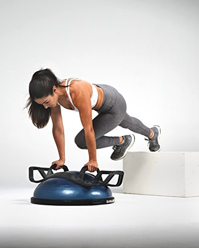 The HELM Core Fitness Strength Training System - Multi Grip Push Up and  Plank Device for Balance Ball and Stability Ball