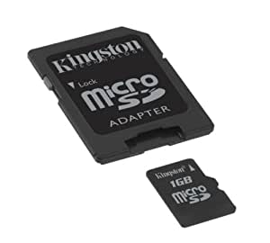 Kingston 1 GB Micro SD Card (Retail Package)