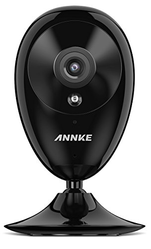 IP Camera, ANNKE Nova S 1080P HD WiFi Wireless Security Camera, Work with Amazon Alexa and IFTTT, Two-way Audio, Cloud Service Available