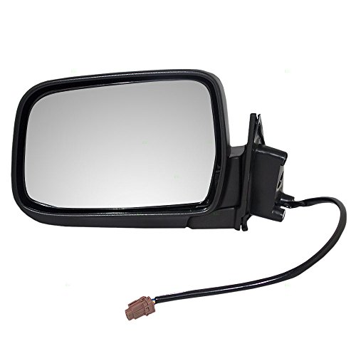 Drivers Power Side View Mirror Textured Replacement for Nissan Pickup Truck SUV 96302-3S500 AutoAndArt ()