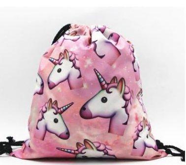 Girls E Yuhemii Unicorn Women Shoulder Backpack Drawstring Bags Print wppzqXf
