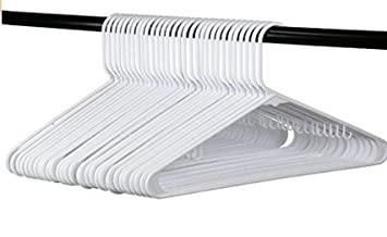 White Plastic Clothes Hangers The Best Choice Everyday Standard Suit Clothe Hanger Target Set